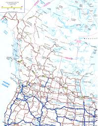 Usa West Coast Road Trip Maps by Map Of America West Coast Road Trip At Road Map Of Western Canada