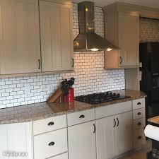 How To Install A Backsplash In A Kitchen Dos And Don U0027ts From A First Time Diy Subway Tile Backsplash