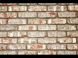 How To Paint A Faux Brick Wall - how to make faux brick wall youtube