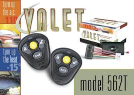 562t deluxe remote car starter with keyless entry