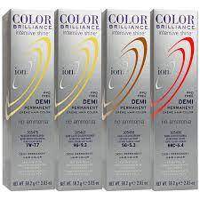 Light Brown Temporary Hair Color Spray Ion Color Brilliance Intensive Shine Demi Permanent Creme 3w
