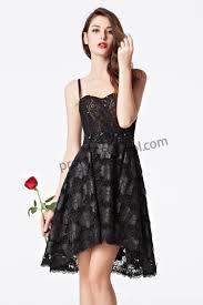 prom dresses online black lace spaghetti straps sweetheart hi