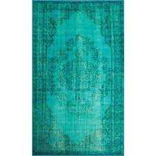 Cheap Area Rugs 5x8 Floor Smooth Turquoise Area Rug For Nice Upper Floor Decor Ideas