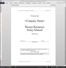 employee handbook template 2017 hr event planning format