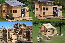 How To Build A Shed Out Of Wooden Pallets by Diy Pallet House Home Design Garden U0026 Architecture Blog Magazine