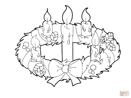 coloring pages of flames advent wreath colouring page funycoloring