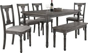 lark manor parkland 6 piece dining set u0026 reviews wayfair