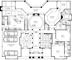 luxury floorplans one story luxury house plans with media room small porches