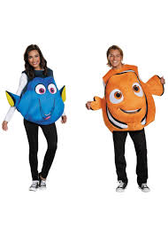 nemo halloween costume nemo and dory couples costume set animal costumes