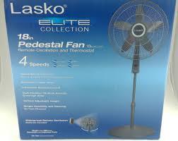 Pedestal Fan With Remote Control Lasko Elite Collection 18