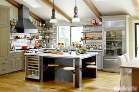 a look at some industrial style kitchens homes of the rich