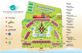 royal caribbean floor plan greats resorts caribbean resort huts over water