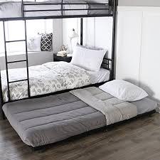 Trundle Bed Frame And Mattress Walker Edison Roll Out Trundle Bed Frame Black