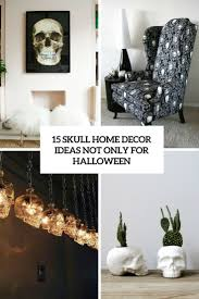 Home Decorations For Halloween by 15 Skull Home Décor Ideas Not Only For Halloween Shelterness