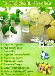 top 10 health benefits of lemon water top 10 home remedies