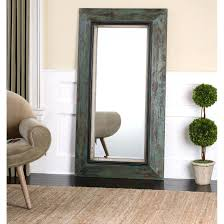 large floor mirror decorating ideas leaner black frame tan matched