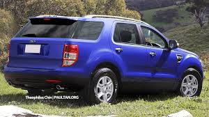 Ford Everest Facelift New Ford Everest On The Cards 2014 Market Debut