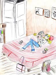 ma chambre a moi un dessin de ma chambre juste pour le hakuro