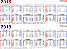 image result for free printable 2018 2019 calendar phillip