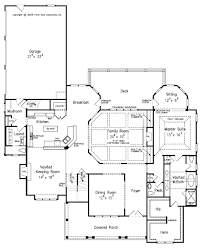 craftsman style house plan 4 beds 5 5 baths 3878 sq ft plan 927
