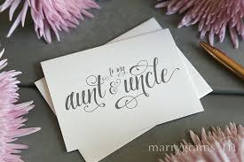 Wedding Wishes Nephew Wedding Card To Your Aunt And Uncle Family Of The Bride Or