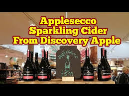 bulk sparkling cider applesecco a sparkling cider from apple variety discovery