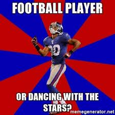 Salsa Dancing Meme - football player or dancing with the stars victor cruz salsa dance