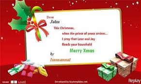 christmas card templates for word template business