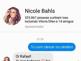 Meme Nicole - novo meme nicole bahls viraliza na web depois de dar resposta