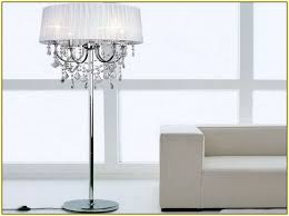 Crystal Chandelier Table Lamp Crystal Chandelier Floor Lamp Target Home Design Ideas