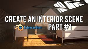 hd create a modern interior scene in blender 2 6 part 1