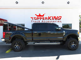 Ford F250 Truck Parts And Accessories - black ford f250 with leer 700 series lid topperking topperking