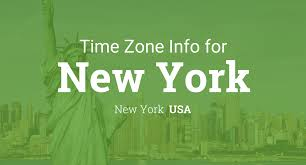 Time Zone Map Us by Daylight Saving Time Dates For Usa U2013 New York U2013 New York Between