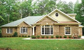 homes brick home plans with wrap around porch ranch prepossessing