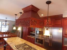 standard height for pendant lights over island island stove hoods with pendant lighting and marble countertops