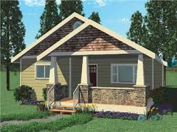 california style bungalow vintage small house plans 780 sq ft 18gv