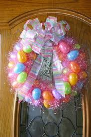 how to make an easter egg wreath how to make an easter egg wreath using plastic easter eggs and