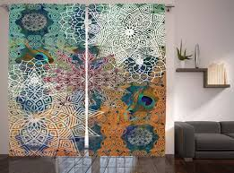 Hippie Drapes Interior Hippie Drapes Tapestry Drapes Hippie Curtains