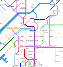 Dc Metro Rail Map by Osaka Subway And Train Map My Blog
