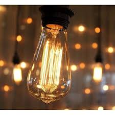 edison string lights zimtown bulb string lights with st64 edison incandescent bulbs