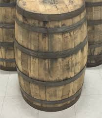 whiskey barrel table for sale single whole 53 gallon whiskey barrel for sale gardening