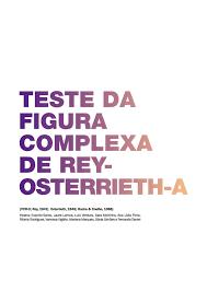teste da figura complexa de rey osterrieth pdf download available