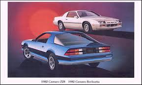 1982 camaro z28 specs 1982 camarofacts com