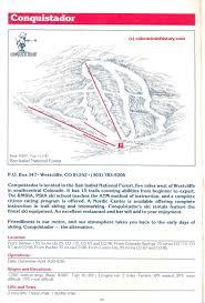 Crestone Colorado Map by Conquistador Ski Area