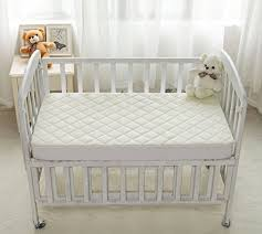 Baby Cribs Mattress Organic Bamboo Crib Mattress Cover Waterproof And Fitted Crib