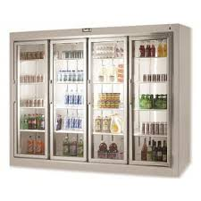4 doors 5 doors and 6 doors glass door refrigerated