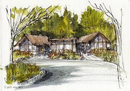glwsketchworks architectural illustrations
