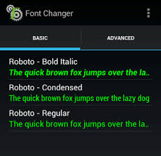 fonts for android how to use the s roboto font everywhere