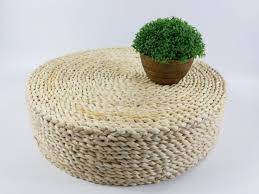 Ikea Pouf Ottoman 8 Best Simple Rustic Straw Floor Poofs 100 Handmade And Organic