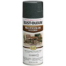 amazon com rust oleum 223525 multi color textured spray aged